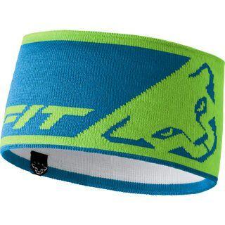 Dynafit Leopard Logo Headband, lambo green - Stirnband