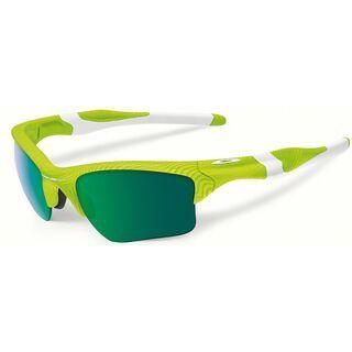 Oakley Half Jacket 2.0 XL Fingerprint, retina burn/Lens: jade iridium - Sportbrille