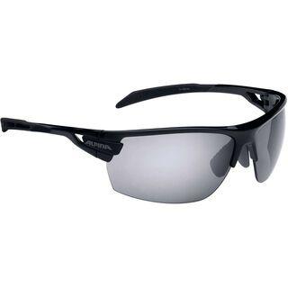 Alpina Tri-Scray inkl. Wechselscheibe, black/Lens: black mirror - Sportbrille