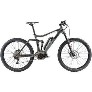 Cube Stereo Hybrid 140 27.5 2014, grey/black/white - E-Bike