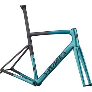 Specialized S-Works Tarmac Disc Frameset Sagan Collection 2019, dark teal/charcoal