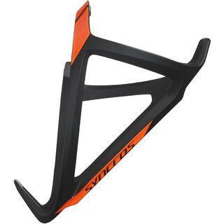 Syncros Tailor Cage 1.5 Left, black/neon orange - Flaschenhalter