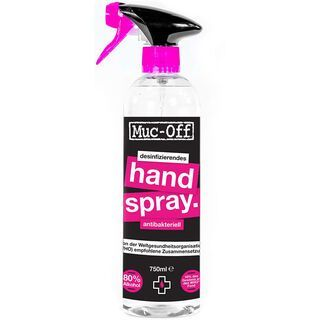 Muc-Off Antibacterial Sanitising Hand Spray 750 ml - Desinfektionsmittel