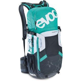 Evoc FR Enduro Team Women, black/white/green - Fahrradrucksack