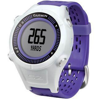 Garmin Approach S2, violett/weiß - Golfuhr