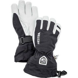 Hestra Army Leather Heli Ski Jr. 5 Finger, black - Skihandschuhe