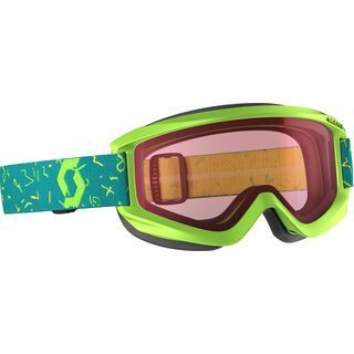 Scott Jr Agent, green/Lens: amplifier - Skibrille