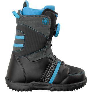 Burton Zipline, Black/Gray/Blue - Snowboardschuhe