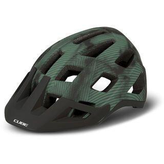 Cube Helm Badger green