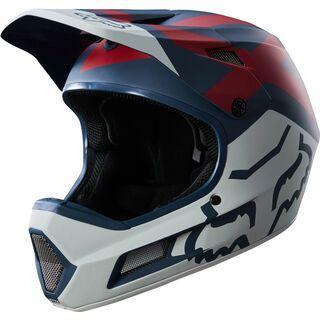 Fox Rampage Comp Helmet, blue/red - Fahrradhelm