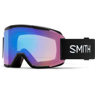 Smith Squad, black/Lens: cp photochromic rose flash - Skibrille