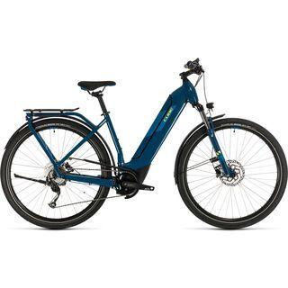 Cube Kathmandu Hybrid ONE 500 Easy Entry 2020, blue´n´yellow - E-Bike
