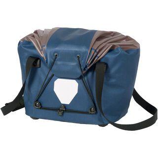 Ortlieb Fahrradkorb M, stahlblau-grau - Gepäckträgertasche