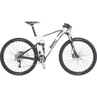 BMC Fourstroke 02 SLX/XT 2016, white - Mountainbike
