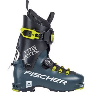 *** 2. Wahl *** Fischer Travers 2019, petrol/black - Skiboots | Größe 29,5 // 45 1/3