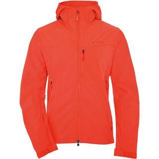 Vaude Men's Ducan Softshell Jacket, glowing red - Softshelljacke
