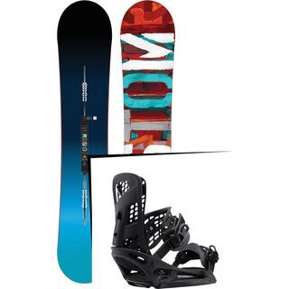 Set: Burton Custom Flying V 2017 +  Genesis X EST (1712793S)