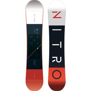 Nitro Team Gullwing Wide 2020 - Snowboard