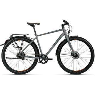 Cube Travel Pro 2016, grey black orange - Trekkingrad