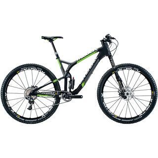 Cannondale Trigger 29 Carbon Team 2015, matte black/green - Mountainbike