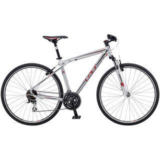 GT Transeo 4.0 2012, Silver - Fitnessbike