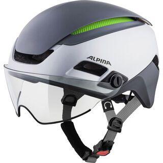 Alpina Altona M, silver-darksilver - Fahrradhelm