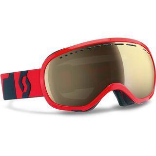 Scott Off-Grid, neon red/ls bronze chrome - Skibrille