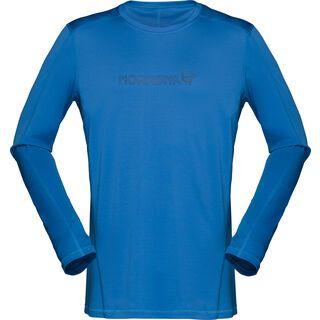 Norrona /29 tech long sleeve Shirt (M), denimite - Radtrikot