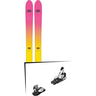 Set: DPS Skis Yvette 112 RP2 Foundation 2018 + Salomon Warden MNC 13 white/black