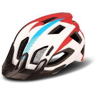Cube Helm Quest Teamline, white´n´blue´n´red - Fahrradhelm