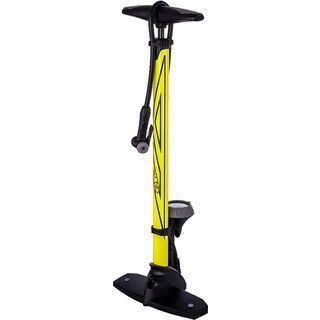 Azonic Riva DV Floorpump, neon yellow - Standluftpumpe