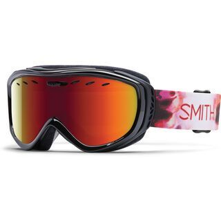 Smith Cadence + Spare Lens, pepper inkblot/red sol-x mirror - Skibrille