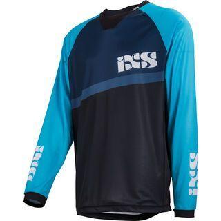 IXS Pivot 7.1 DH Jersey, light blue black - Radtrikot