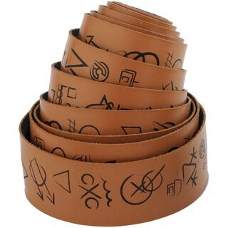 Cinelli Hobo Alphabet Volée Ribbon, brown - Lenkerband