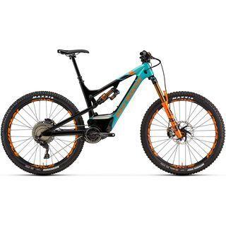 Rocky Mountain Altitude Powerplay Carbon 90 Rally Edition 2019, turquoise/black/orange - E-Bike
