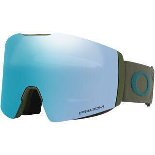 Oakley Fall Line XL Prizm, icon dark brush/Lens: sapphire iridium - Skibrille