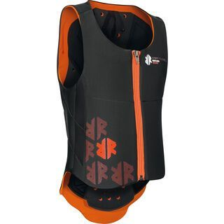 Komperdell Ballistic Vest Junior, black/orange - Protektorenweste