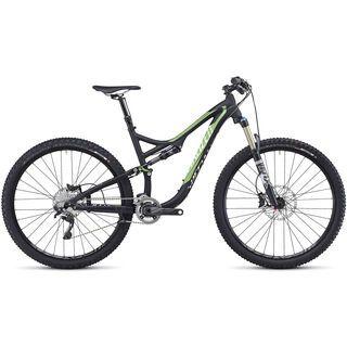 Specialized Stumpjumper FSR Elite 29 2014, Black/Moto Green/White - Mountainbike