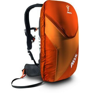 ABS Vario Base Unit inkl. 8 l Zip-On, red orange - Lawinenrucksack
