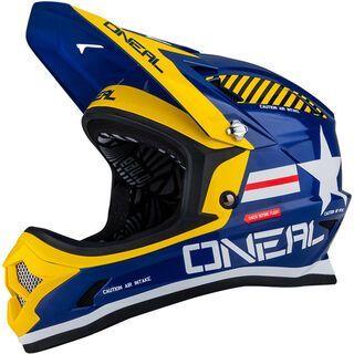 ONeal Fury Fidlock DH Helmet Evo Afterburner, blue - Fahrradhelm