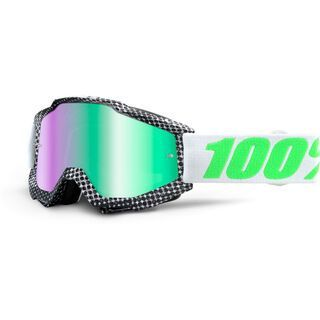 100% Accuri inkl. Wechselscheibe, newsworthy/Lens: mirror green - MX Brille
