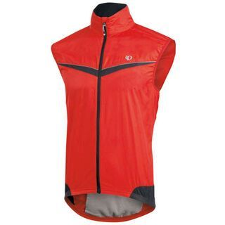 Pearl Izumi Elite Barrier Vest, True Red/Black - Radweste