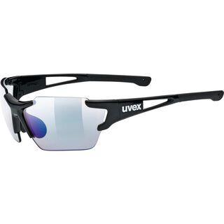 uvex sportstyle 803 race vm small, black/Lens: variomatic litemirror blue - Sportbrille