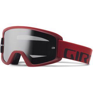Giro Tazz MTB inkl. Wechselscheibe, red black/Lens: amber scarlet - MX Brille
