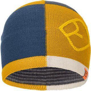 Ortovox Patchwork Beanie, yellowstone - Mütze