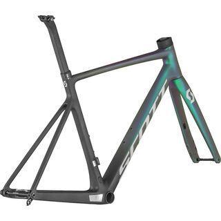 Scott Addict RC Pro Frameset black/prism green purple/reflective grey 2021