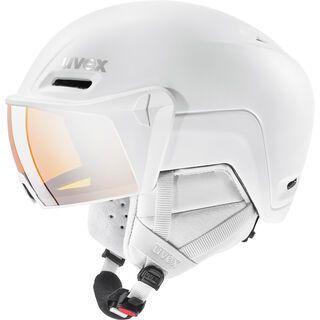 uvex hlmt 700 visor, white mat - Skihelm