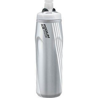 Camelbak Podium Ice - 620 ml, silver/logo - Trinkflasche