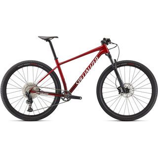 Specialized Chisel Comp red tint carbon/brushed/white 2021