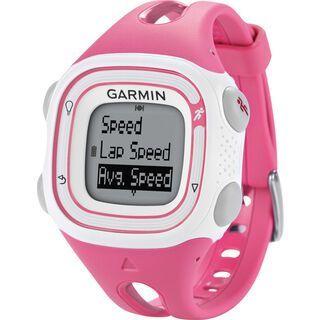 Garmin Forerunner 10, pink/weiß - Sportuhr